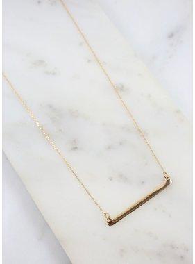 Caroline Hill McCalister Bar Necklace
