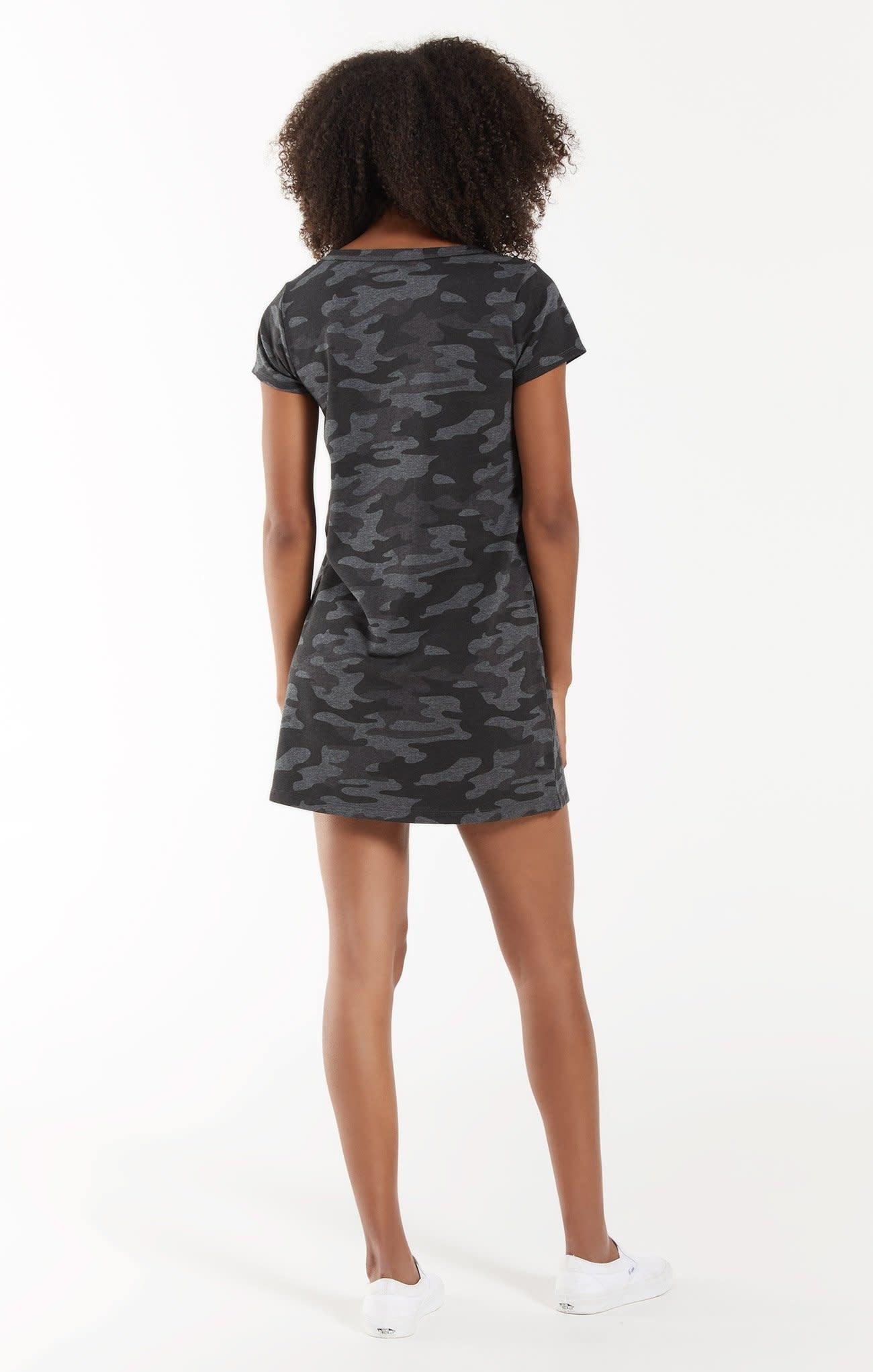 Z Supply Payton Camo Tee Dress