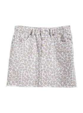 Mud Pie Windsor Button Fly Skirt