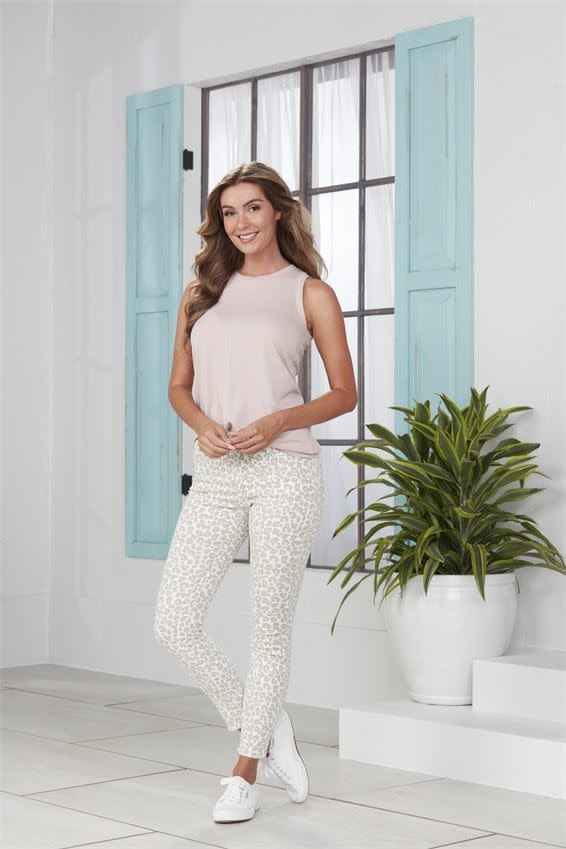 Mud Pie Rory Leopard Jeans