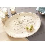 Mud Pie Happy Always Platter