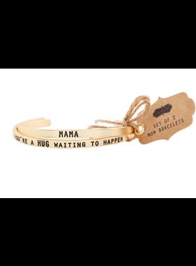 Mud Pie Mama Bangle Bracelet Set
