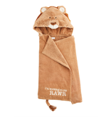 Mud Pie Lion Baby Hooded Towel