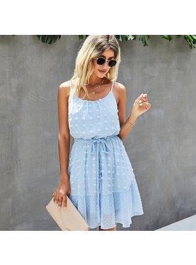 ePretty Light Blue Tank Dress