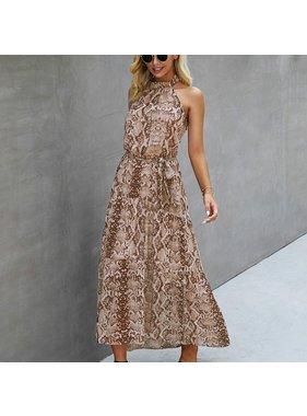 ePretty Snake Print Dress