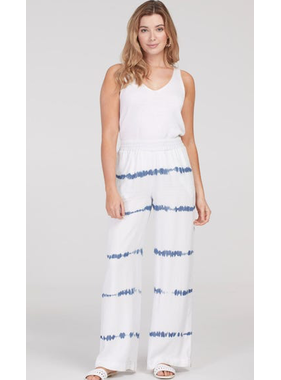 Tribal Pull On Wide Leg Pants