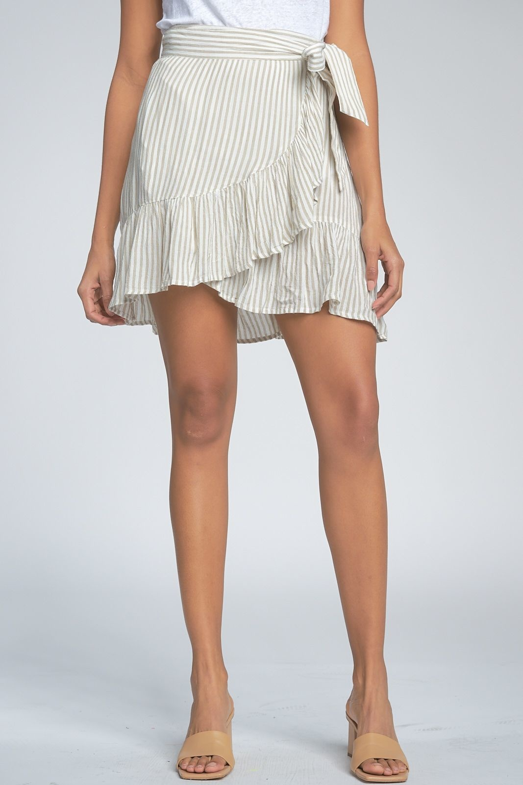 Elan Skirt Wrap w/ Ruffles