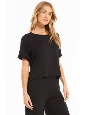 Z Lounge Chill Terry Crew Top