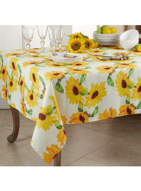 Saro Trading Sunflower Table Topper
