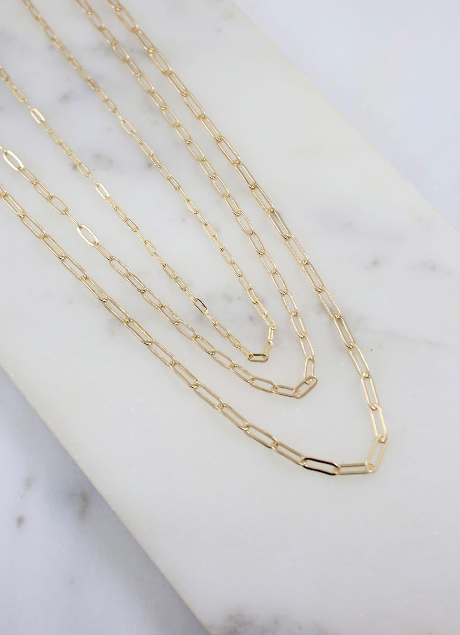 Caroline Hill Galesburg Link Necklace Set