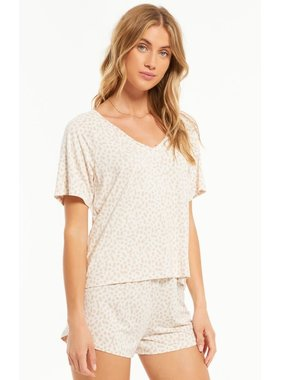 Z Lounge Lay Low V Neck Top