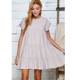 Sweet Lemon Tiered Aline Dress