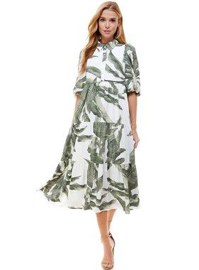 TCEC Green Tiered Dress