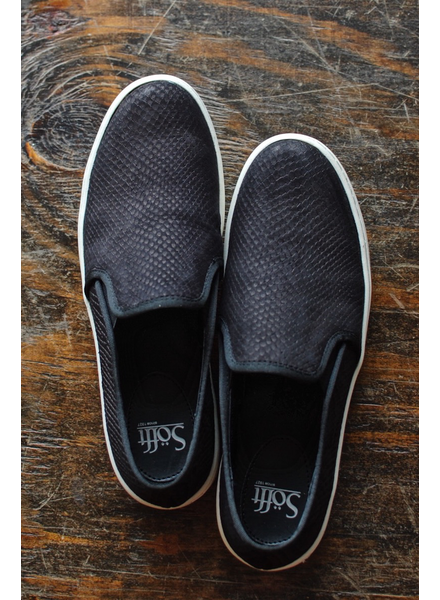 Sofft Somers Slip on Sneakers in Black