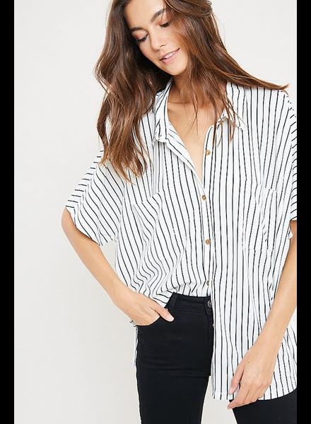 The Kit Simple Stripe Top
