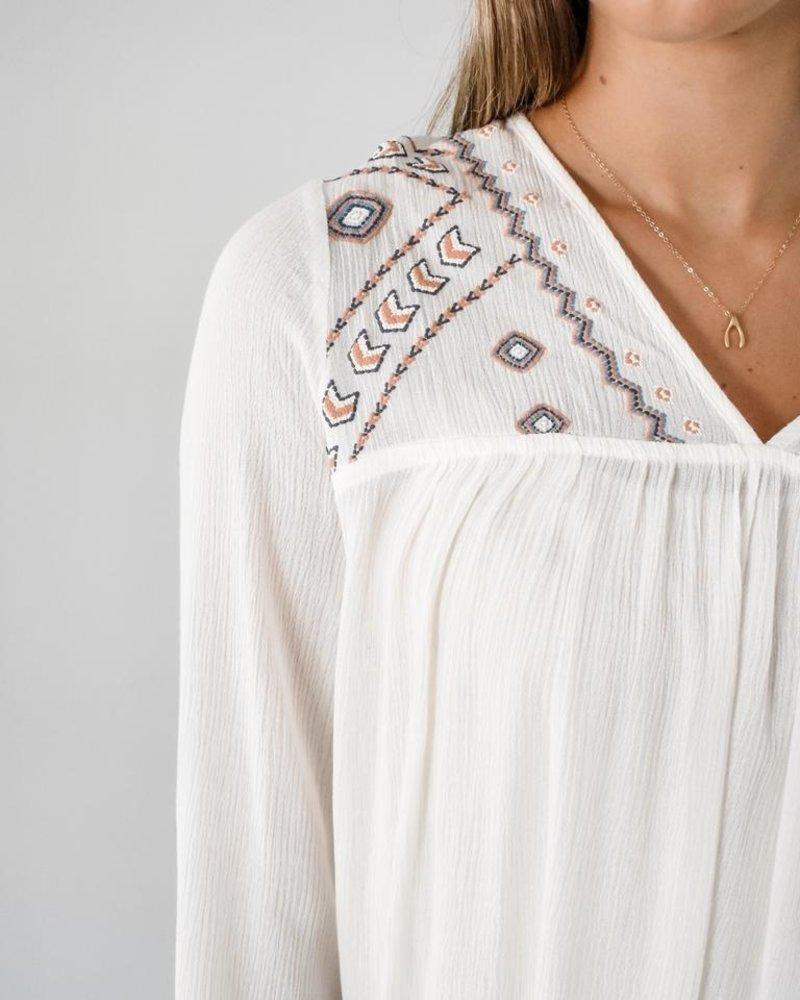 The Jasmine Embroidered Tunic