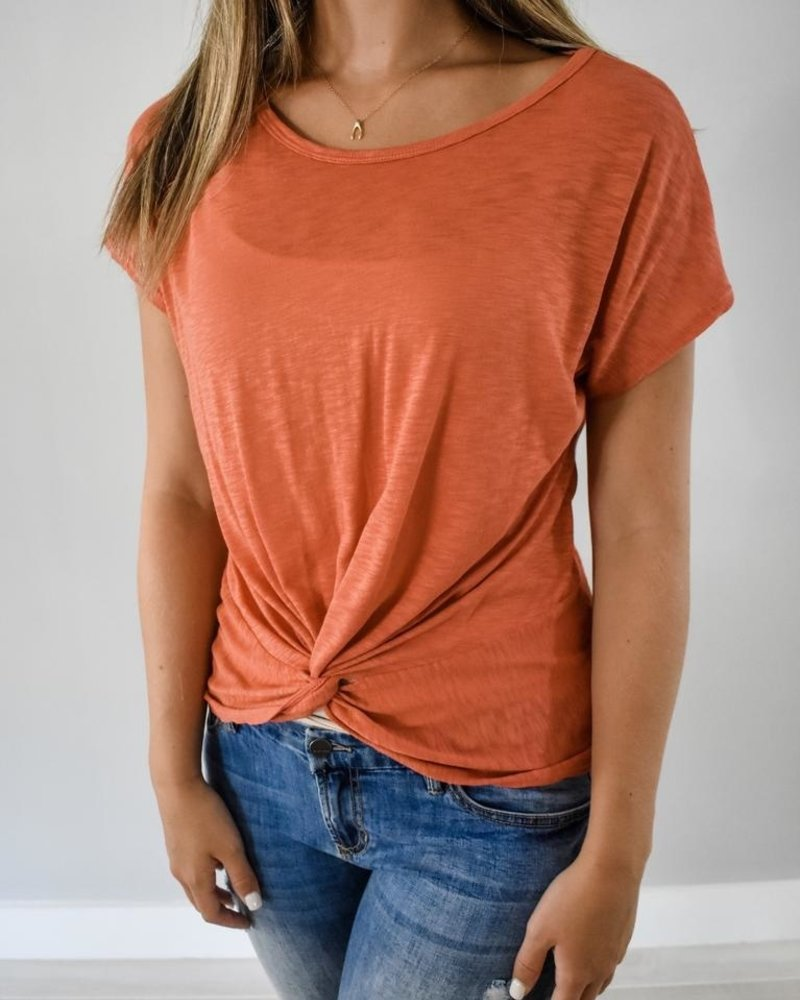 The Blake Twist Front Tee