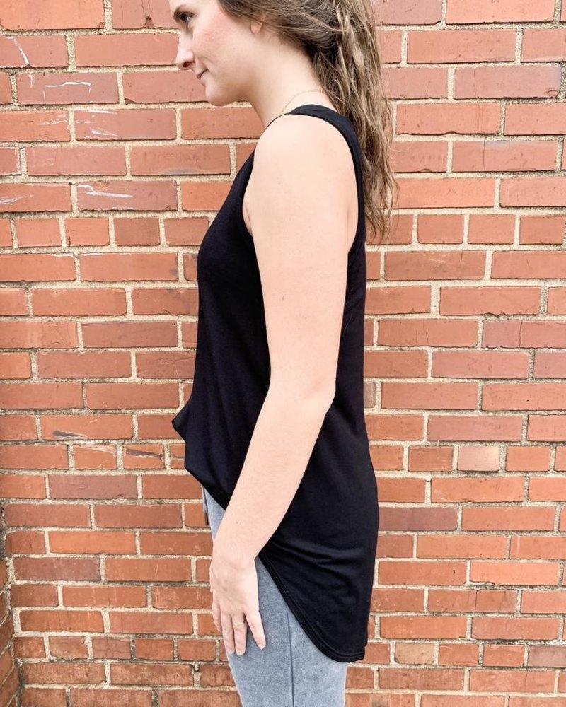 The Everyday Tunic in black