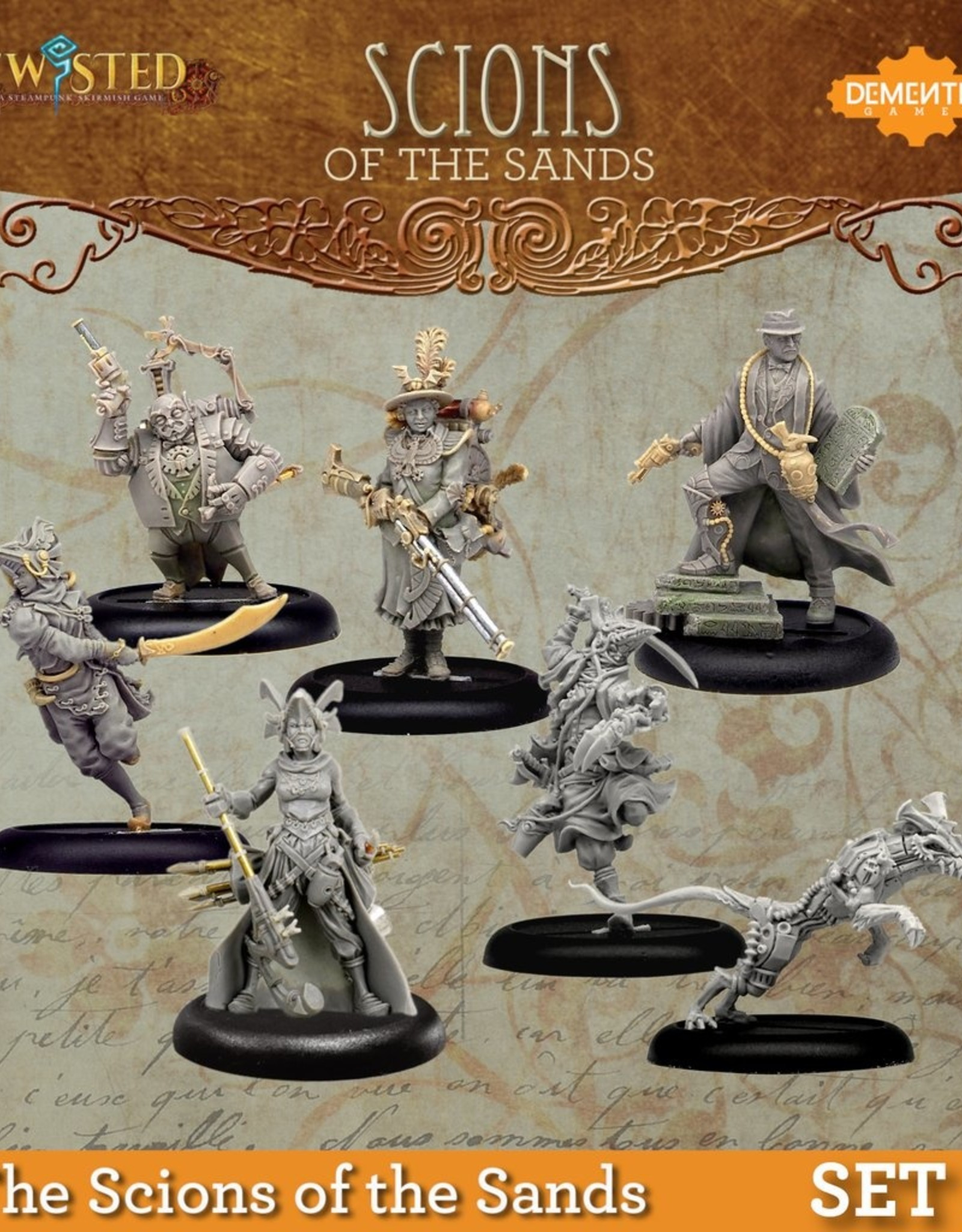 Demented Games The Scions of the Sands Set 1