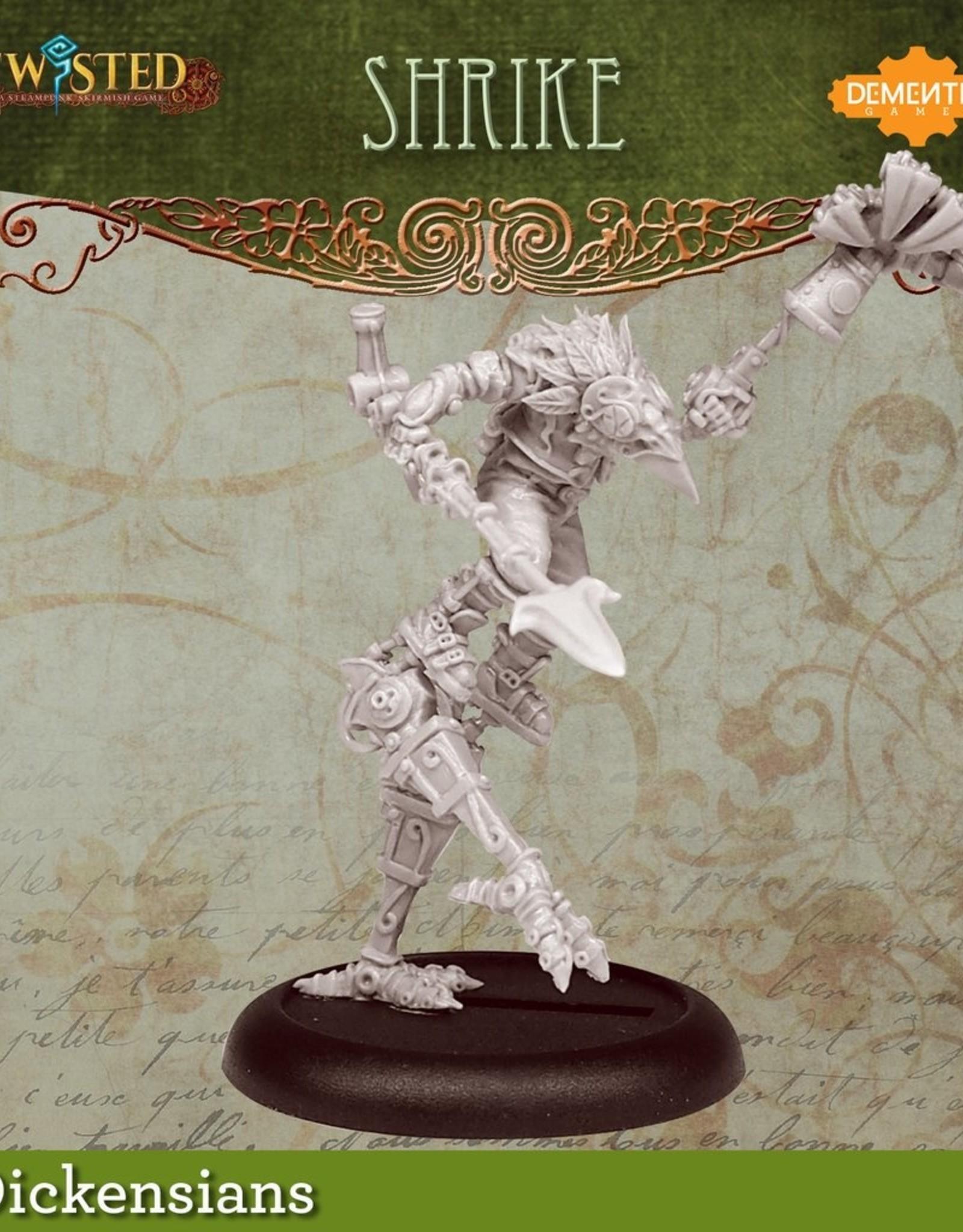 Demented Games Urkin Shrike - Metal