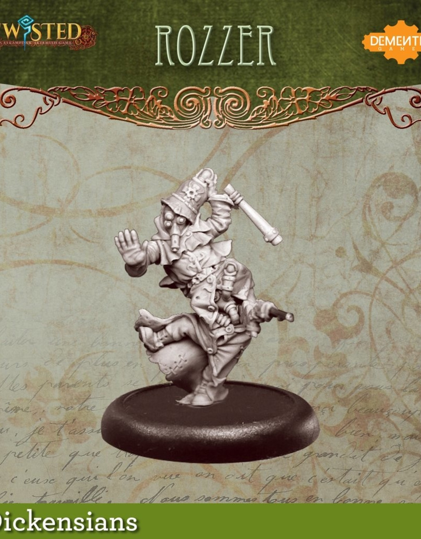 Demented Games Urkin Rozzer - Metal