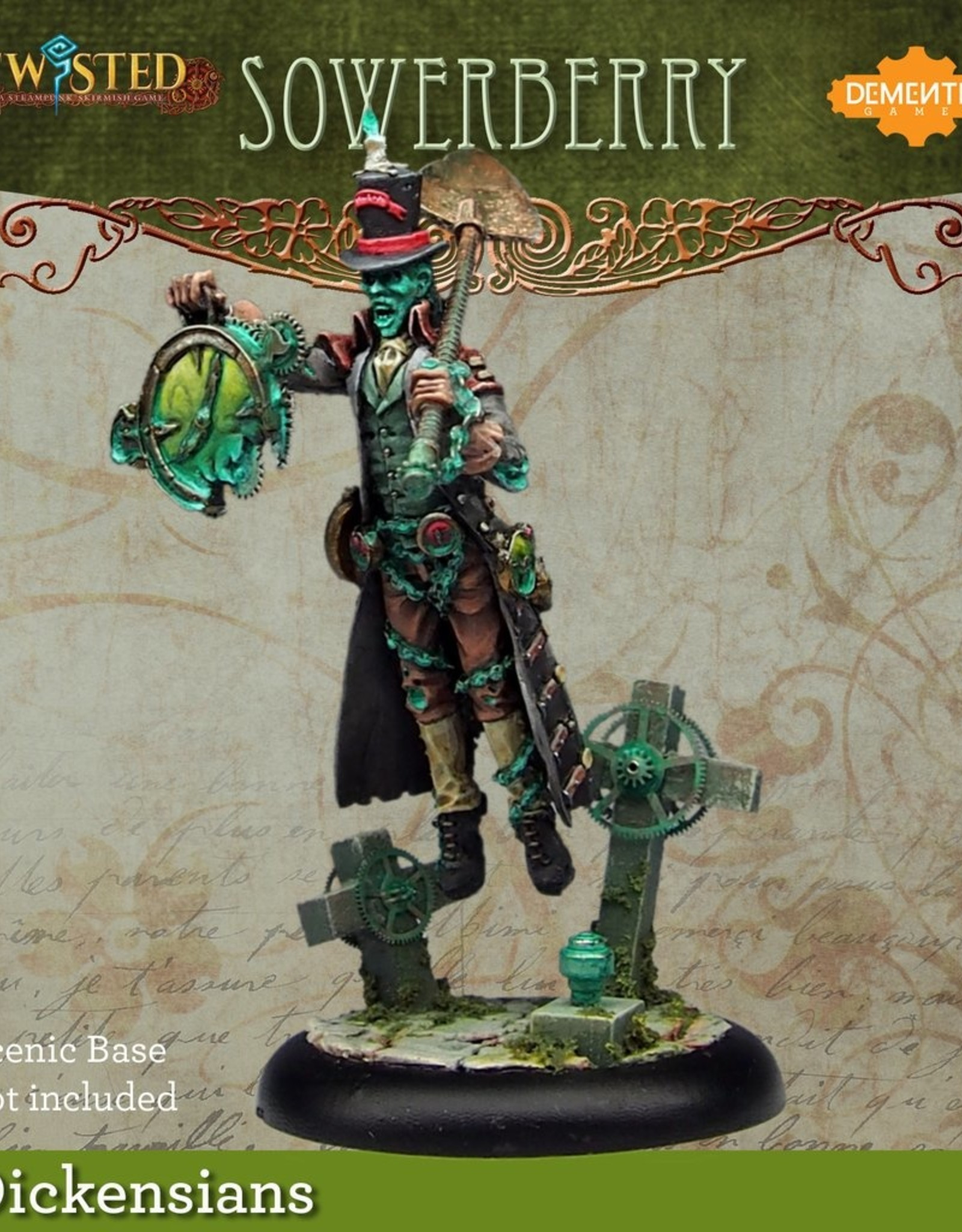 Demented Games Sowerberry - Resin