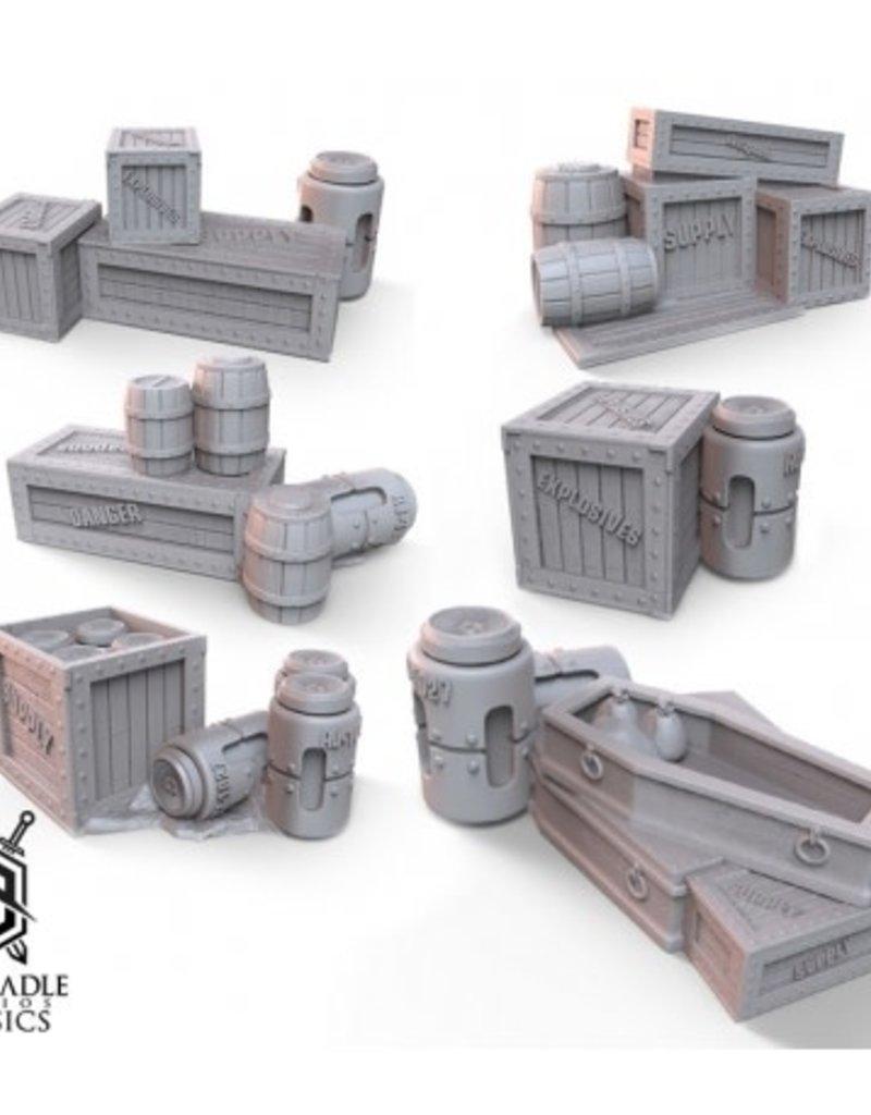Warcradle Generic Barricade Terrain Set 1