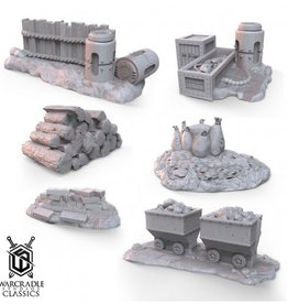 Warcradle Generic Barricade Terrain Set 2