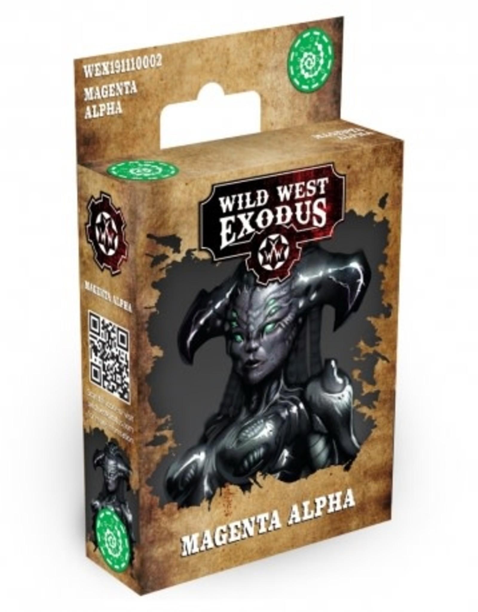 Warcradle Magenta Alpha