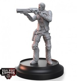 Warcradle Outlaw Bandit with Heavy Weapon Shotgun