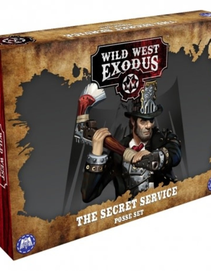 Warcradle The Secret Service Posse Box
