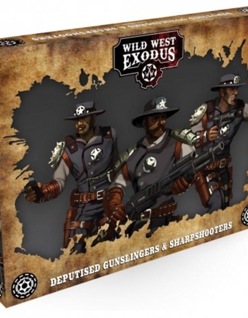 Warcradle Deputised Gunslingers & Sharpshooters