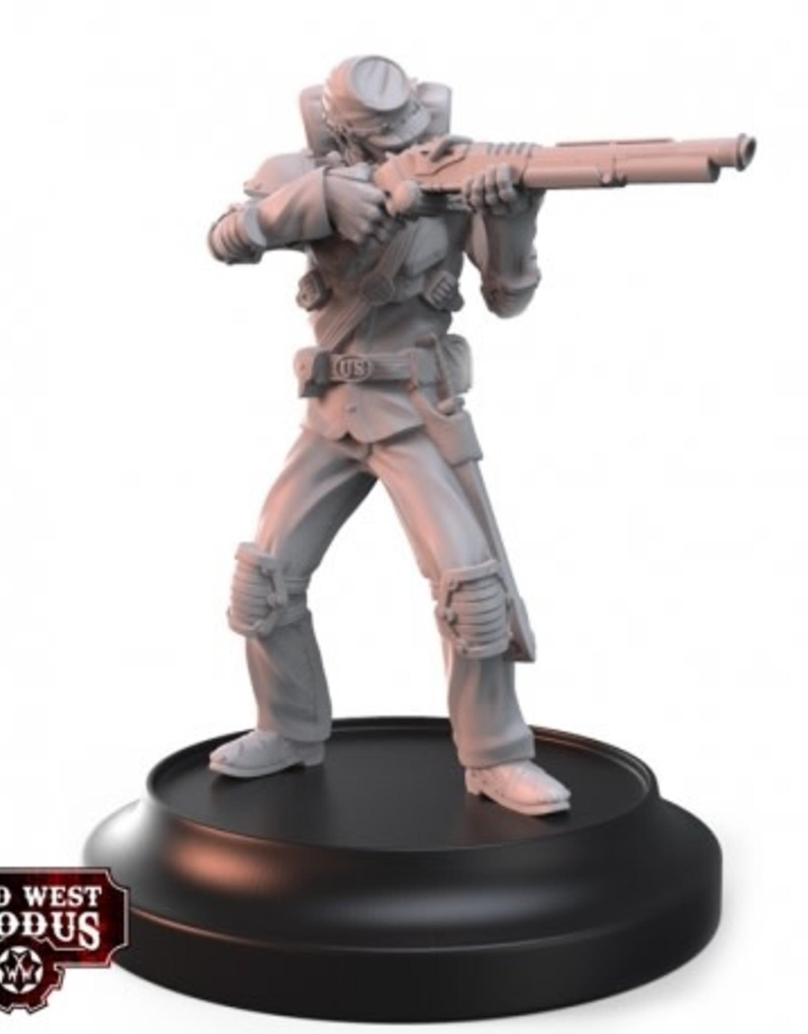 Warcradle Union Skirmishers & Riflemen