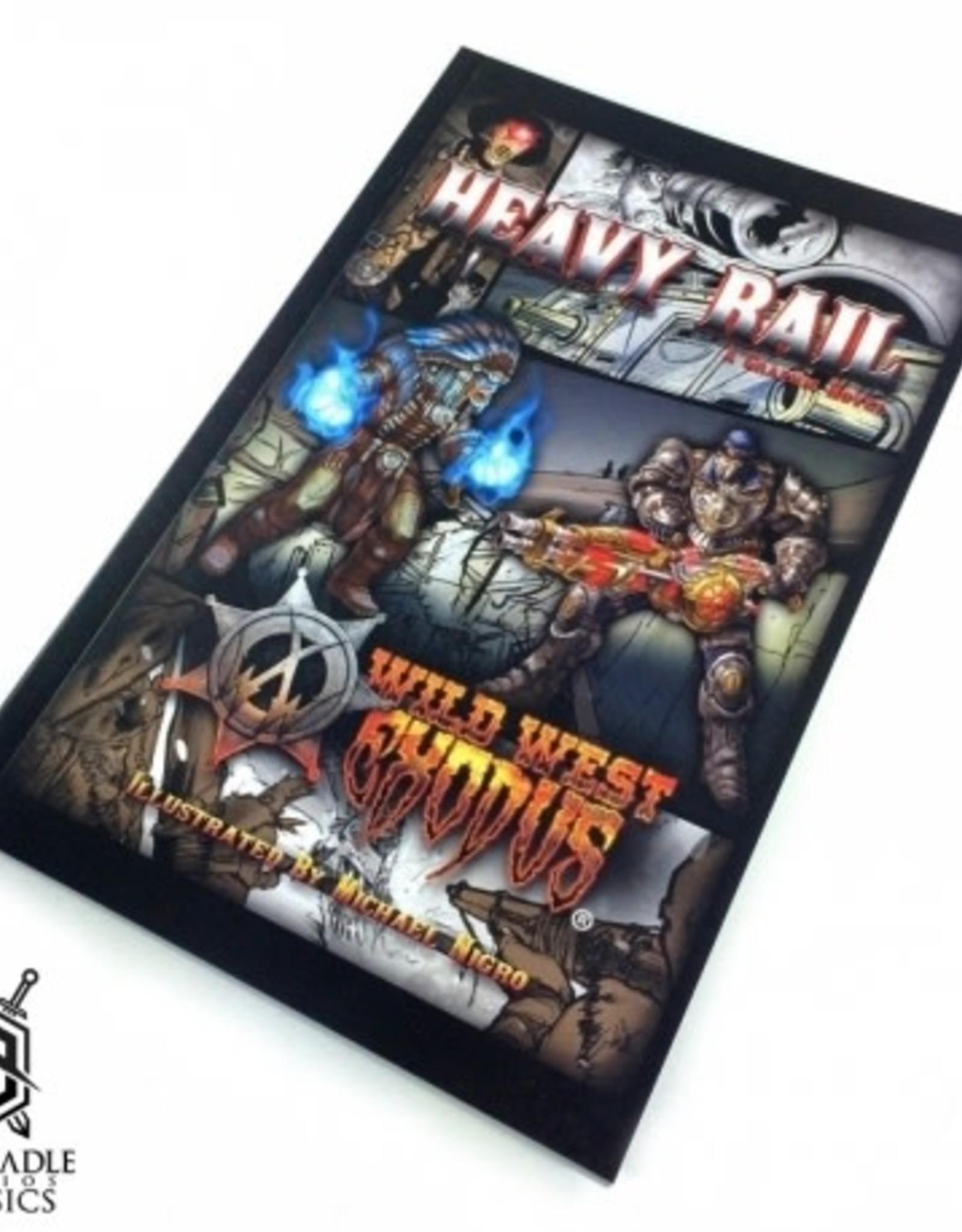 Warcradle Wild West Exodus Graphic Novel: Heavy Rail