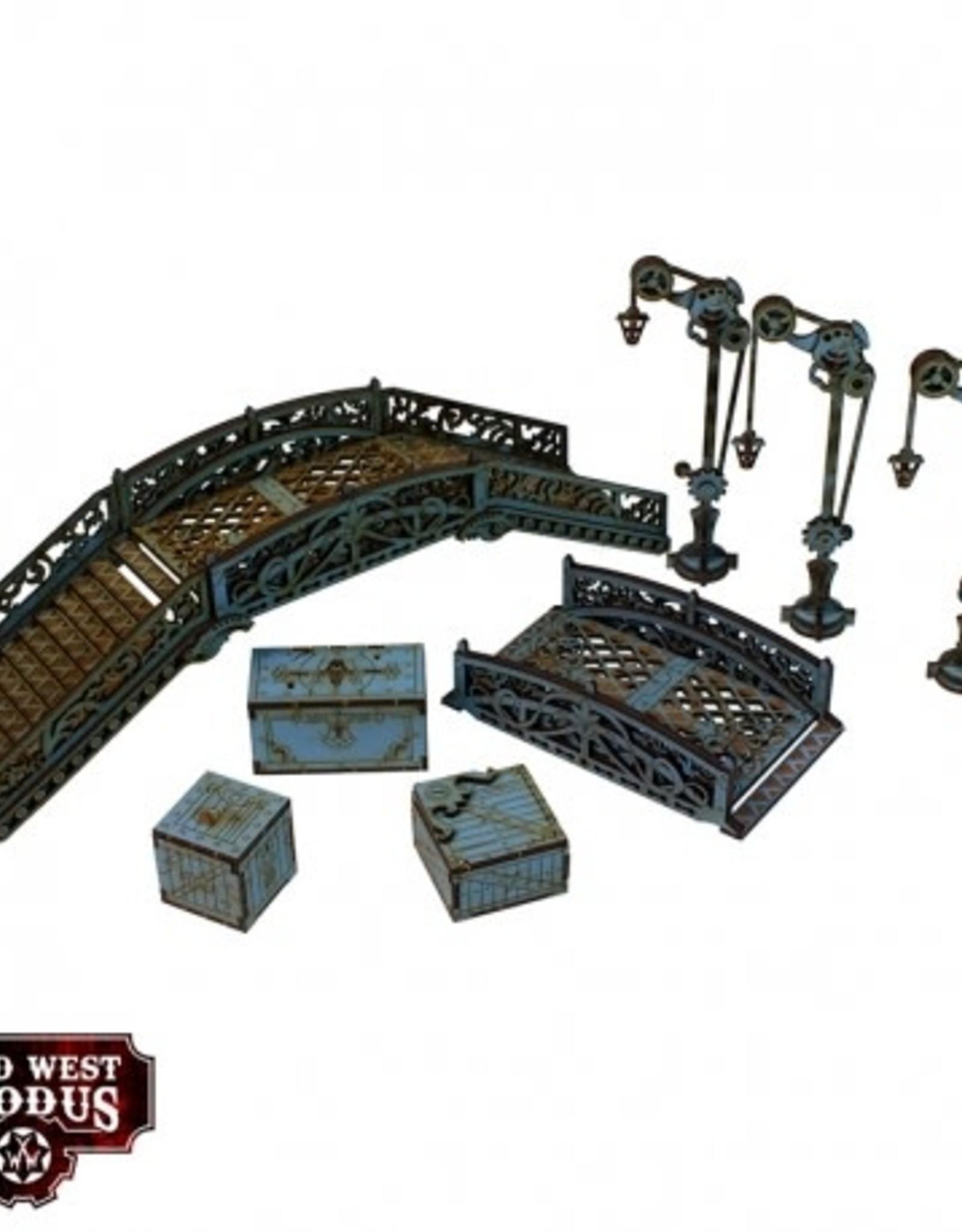Warcradle Red Oak Bridge Set