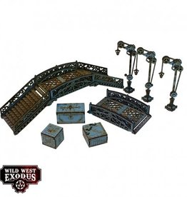 Warcradle Red Oak Bridge Set