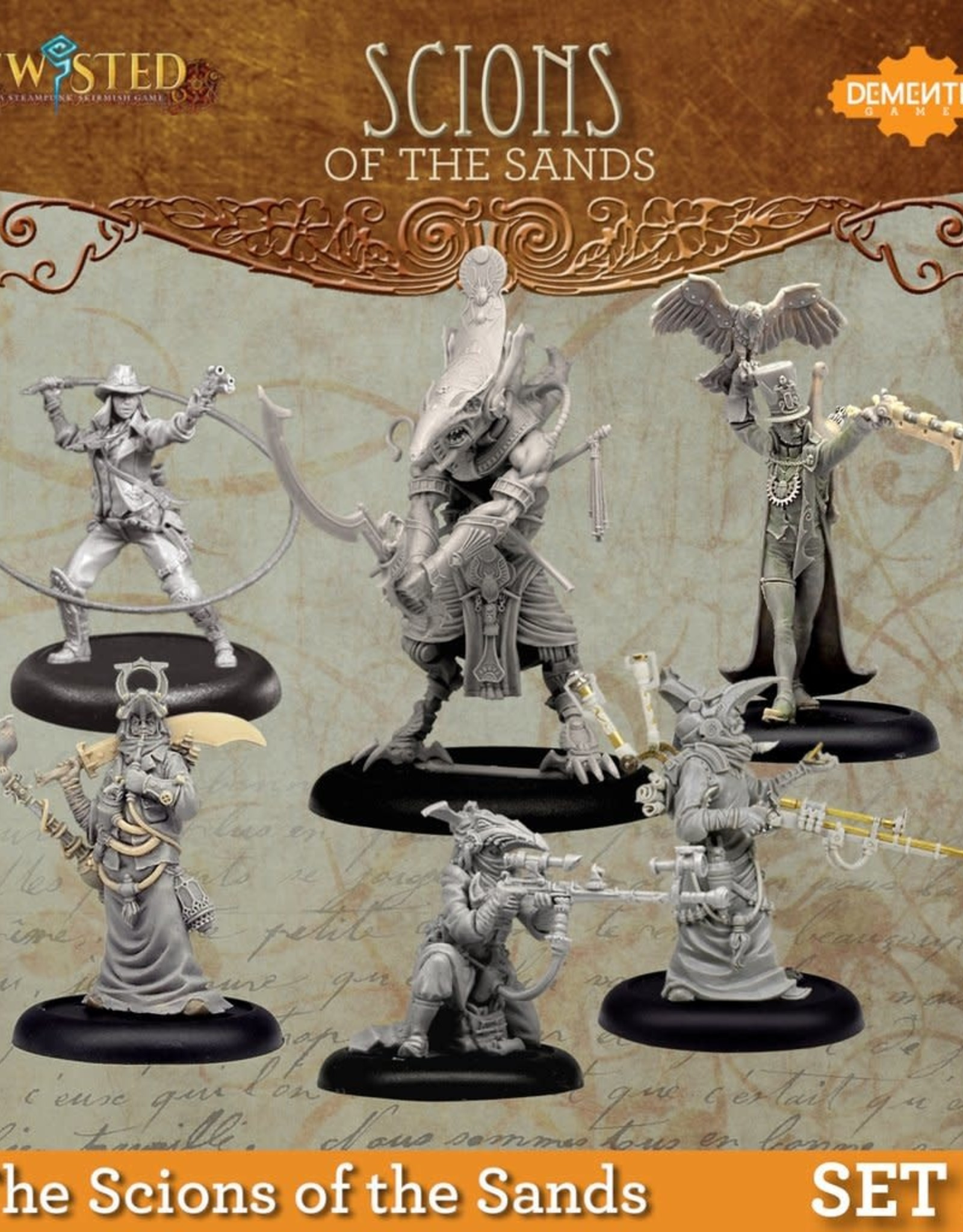 Demented Games Scions of the Sands Set 2
