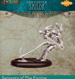 Demented Games Gentlefolk Sailor - Resin