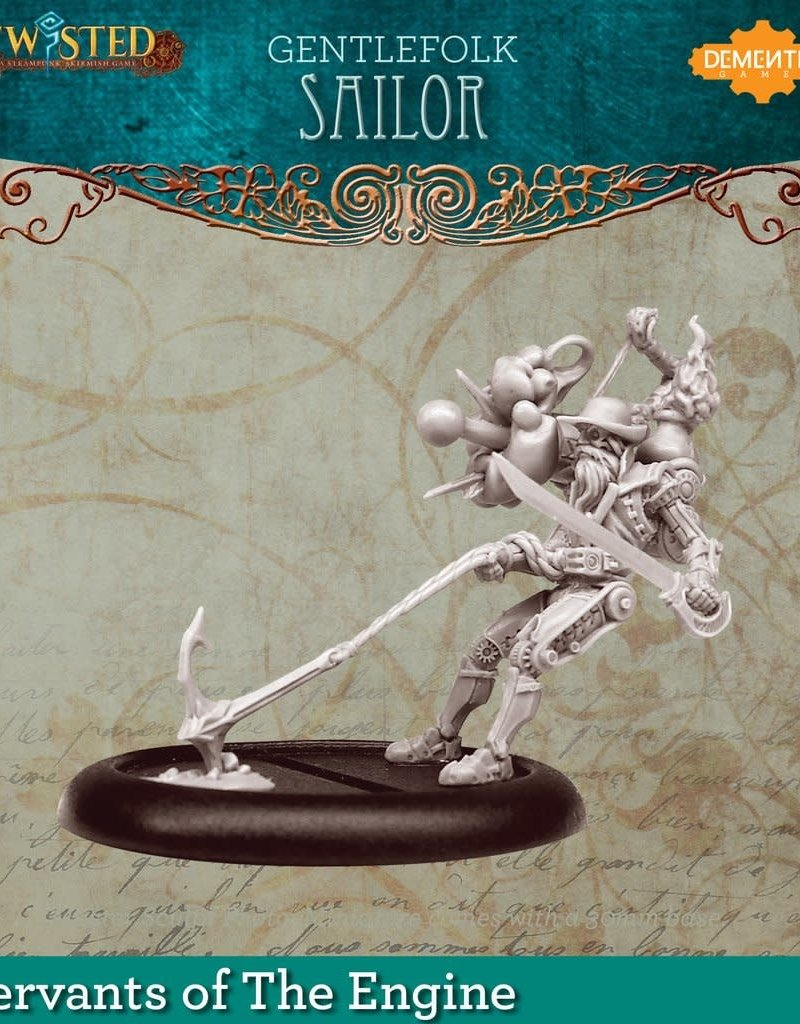 Demented Games Gentlefolk Sailor - Resin
