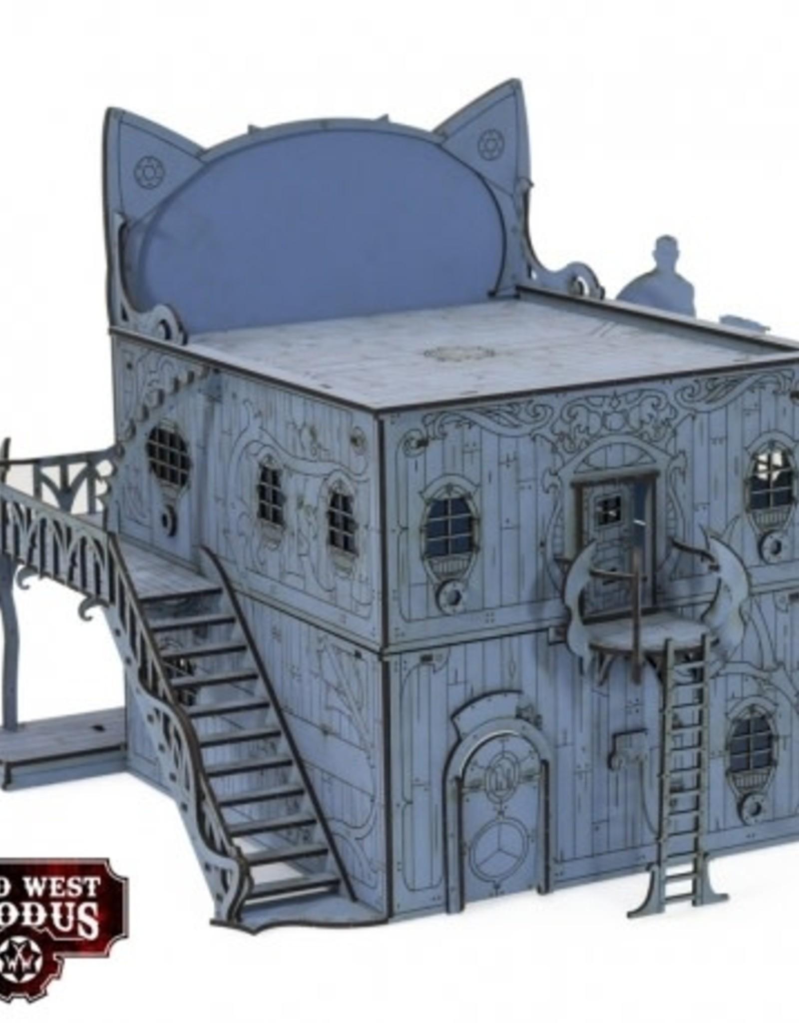 Warcradle Red Oak Cat House