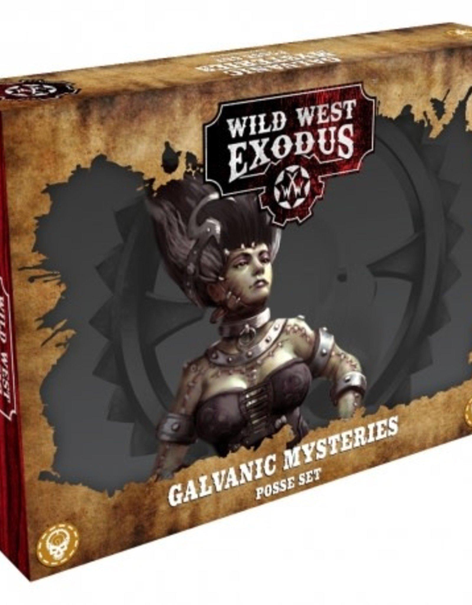 Warcradle Galvanic Mysteries Posse Box