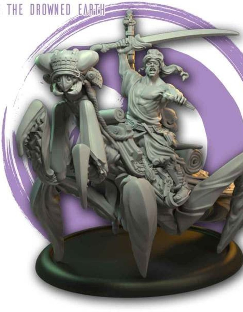 Olmec Games KANEDA MOUNTED, LEADER OF THE FIRM