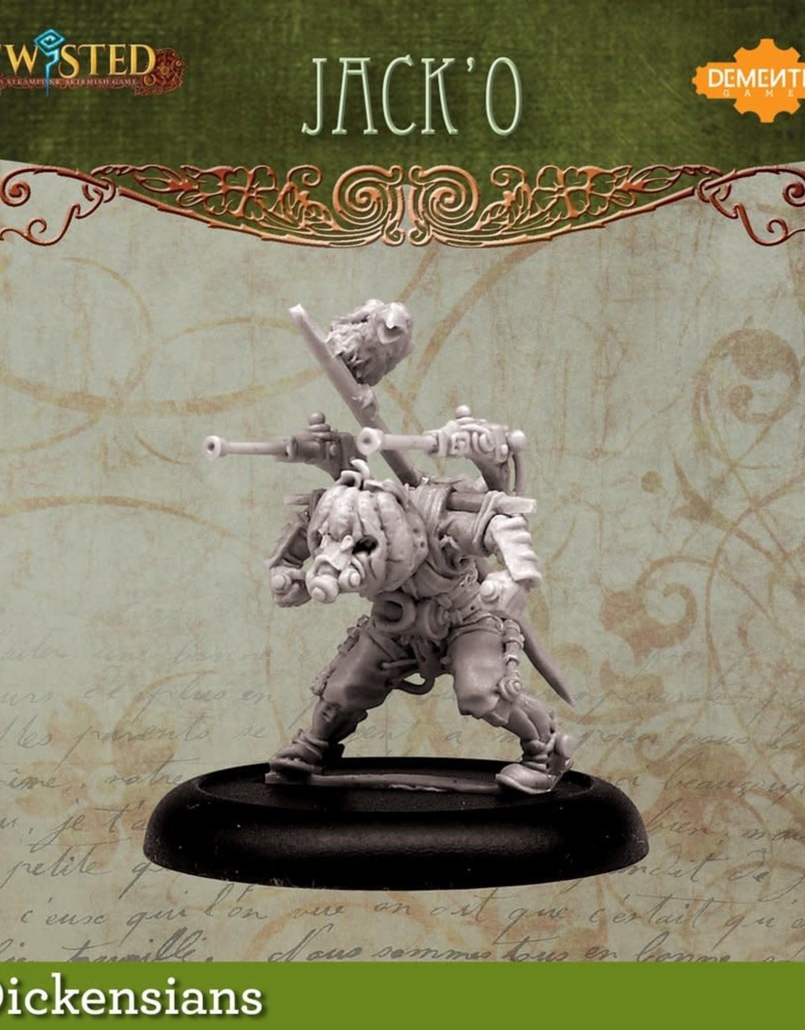 Demented Games Jack'O the Urkin - Metal
