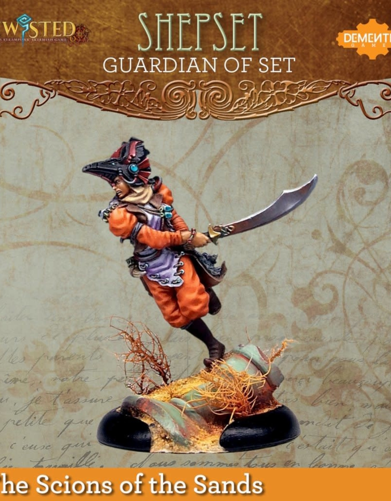 Demented Games Guardian of Set Huntress (Shepset)