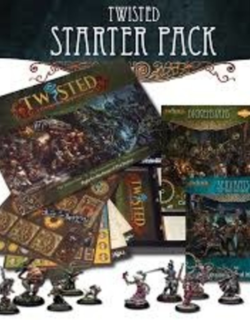 Demented Games Super Twisted Bundle (4 Starters + Rules)