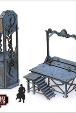 Warcradle Red Oak Gallows and Clock Tower