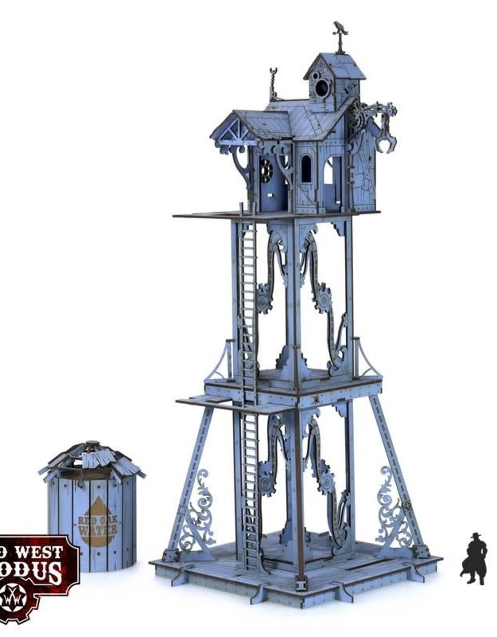 Warcradle Red Oak Watchtower
