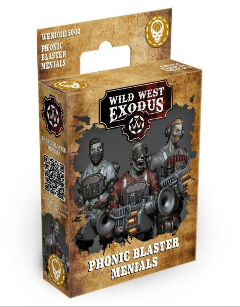 Warcradle Phonic Blaster Menials