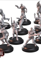 Warcradle Union Armoured Riflemen & Guard