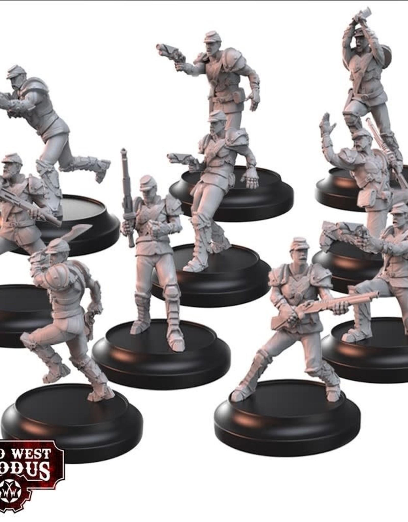 Warcradle Union Armoured Riflemen & Guard